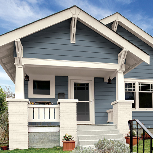 Garrison Gray Cream Paint Colors
