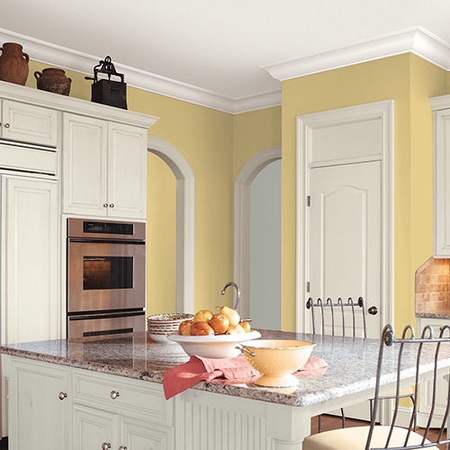 What Color To Paint Kitchen Walls: Interior & Exterior