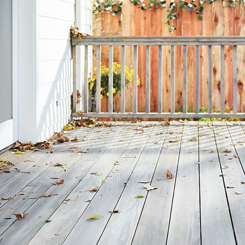 Cleaning Your Deck or Fence