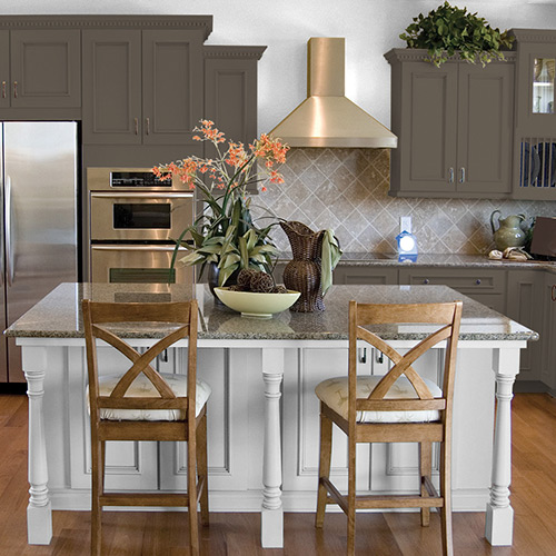 3 Rustic Kitchen Colors