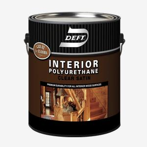 DEFT<sup>®</sup> Interior Oil-Based Polyurethane (350 VOC)
